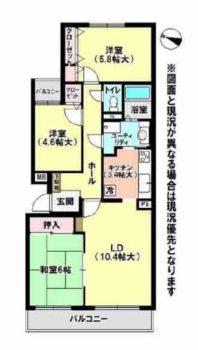 売りマンション(北野サンタウン三号館)
