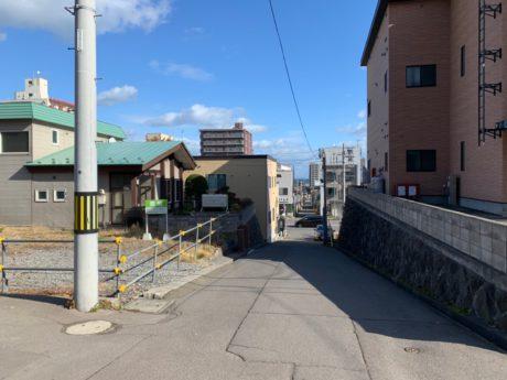 売土地(小樽市稲穂3丁目)