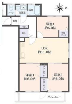 中古売マンションリフォーム済(北35条ハウスB棟)
